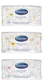Bübchen Baby Wet Wipes 56pcs