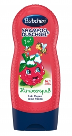 Bübchen Shampoo & Shower Raspberry 230ml
