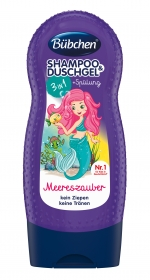 Bübchen 3 in 1 Little Mermaid (Shampoo-Shower-Conditioner)