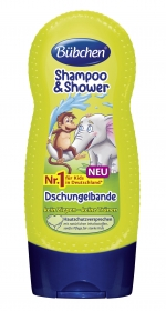 Bübchen Shampoo & Shower Jungle 230ml